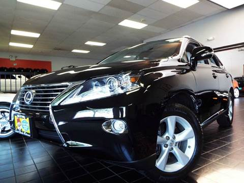 2013 Lexus RX 350 for sale at SAINT CHARLES MOTORCARS in Saint Charles IL