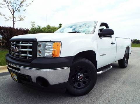 2010 GMC Sierra 1500 for sale at SAINT CHARLES MOTORCARS in Saint Charles IL