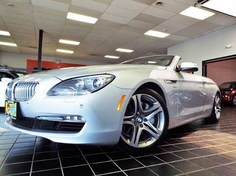 2012 BMW 6 Series for sale at SAINT CHARLES MOTORCARS in Saint Charles IL
