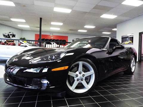 2007 Chevrolet Corvette for sale at SAINT CHARLES MOTORCARS in Saint Charles IL