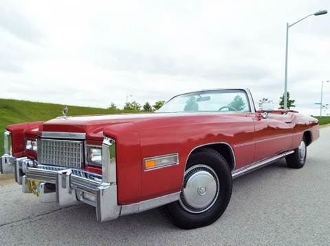 1975 Cadillac Eldorado for sale at SAINT CHARLES MOTORCARS in Saint Charles IL