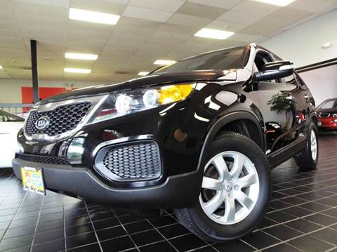 2013 Kia Sorento for sale at SAINT CHARLES MOTORCARS in Saint Charles IL