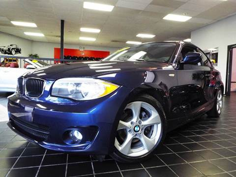 2012 BMW 1 Series for sale at SAINT CHARLES MOTORCARS in Saint Charles IL