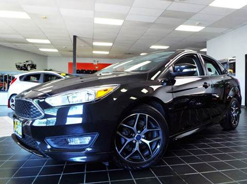2015 Ford Focus for sale at SAINT CHARLES MOTORCARS in Saint Charles IL