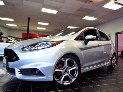 2015 Ford Fiesta for sale at SAINT CHARLES MOTORCARS in Saint Charles IL