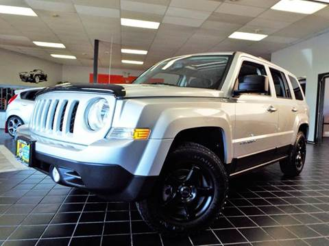 2013 Jeep Patriot for sale at SAINT CHARLES MOTORCARS in Saint Charles IL