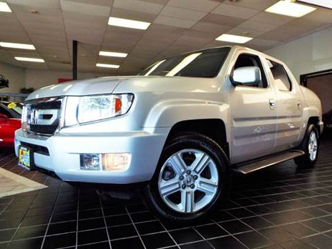 2009 Honda Ridgeline for sale at SAINT CHARLES MOTORCARS in Saint Charles IL