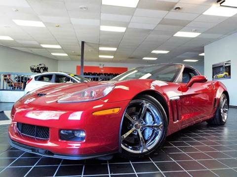 2013 Chevrolet Corvette for sale at SAINT CHARLES MOTORCARS in Saint Charles IL