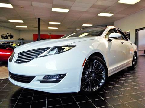 2014 Lincoln MKZ Hybrid for sale at SAINT CHARLES MOTORCARS in Saint Charles IL