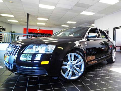2007 Audi S6 for sale at SAINT CHARLES MOTORCARS in Saint Charles IL