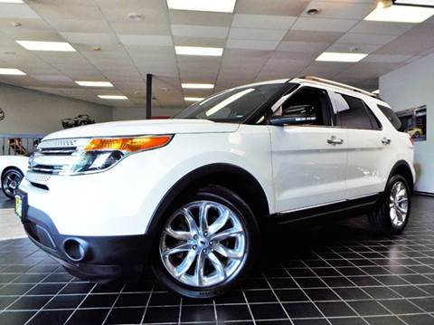 2013 Ford Explorer for sale at SAINT CHARLES MOTORCARS in Saint Charles IL