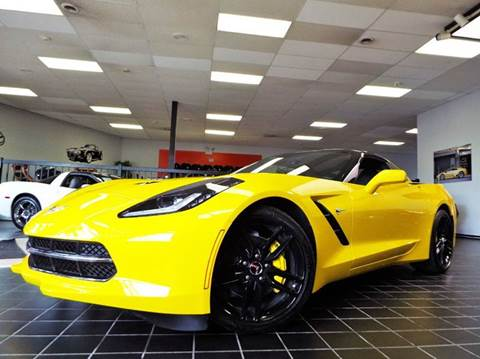 2015 Chevrolet Corvette for sale at SAINT CHARLES MOTORCARS in Saint Charles IL