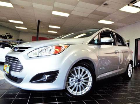 2016 Ford C-MAX Hybrid for sale at SAINT CHARLES MOTORCARS in Saint Charles IL