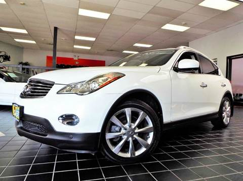 2008 Infiniti EX35 for sale at SAINT CHARLES MOTORCARS in Saint Charles IL
