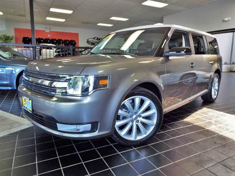 2013 Ford Flex for sale at SAINT CHARLES MOTORCARS in Saint Charles IL