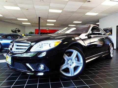 2009 Mercedes-Benz CL-Class for sale at SAINT CHARLES MOTORCARS in Saint Charles IL