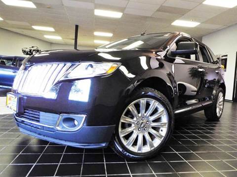 2011 Lincoln MKX for sale at SAINT CHARLES MOTORCARS in Saint Charles IL