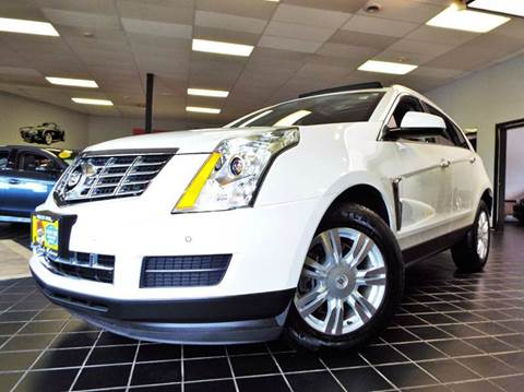 2013 Cadillac SRX for sale at SAINT CHARLES MOTORCARS in Saint Charles IL