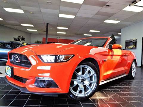 2015 Ford Mustang for sale at SAINT CHARLES MOTORCARS in Saint Charles IL