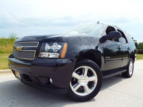 2012 Chevrolet Tahoe for sale at SAINT CHARLES MOTORCARS in Saint Charles IL