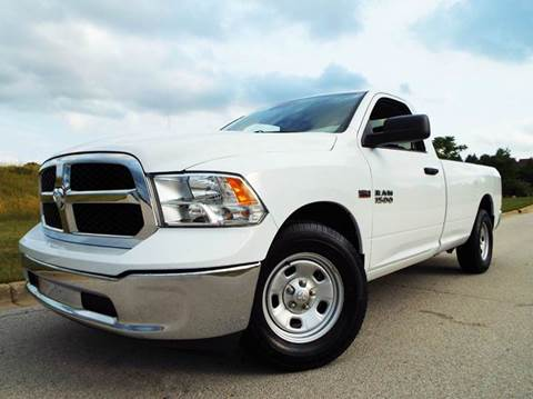 2016 RAM Ram Pickup 1500 for sale at SAINT CHARLES MOTORCARS in Saint Charles IL