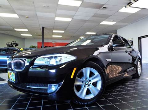 2013 BMW 5 Series for sale at SAINT CHARLES MOTORCARS in Saint Charles IL