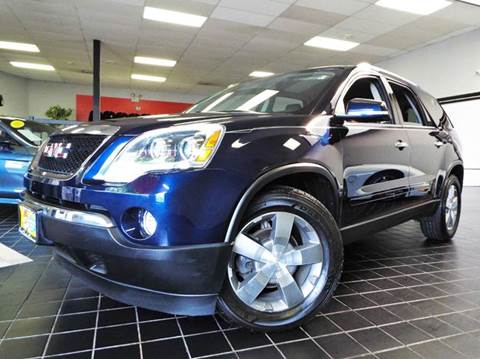 2012 GMC Acadia for sale at SAINT CHARLES MOTORCARS in Saint Charles IL