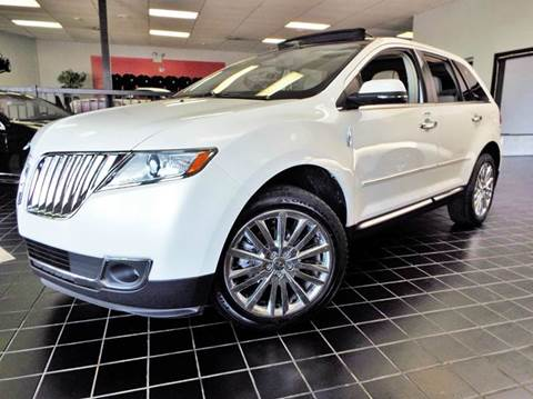 2014 Lincoln MKX for sale at SAINT CHARLES MOTORCARS in Saint Charles IL