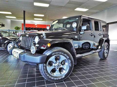 2011 Jeep Wrangler Unlimited for sale at SAINT CHARLES MOTORCARS in Saint Charles IL