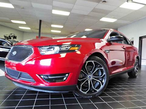 2015 Ford Taurus for sale at SAINT CHARLES MOTORCARS in Saint Charles IL