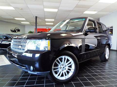 2010 Land Rover Range Rover for sale at SAINT CHARLES MOTORCARS in Saint Charles IL