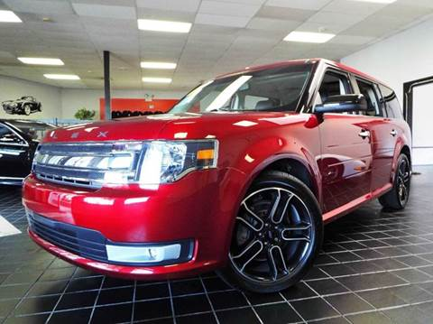 2015 Ford Flex for sale at SAINT CHARLES MOTORCARS in Saint Charles IL