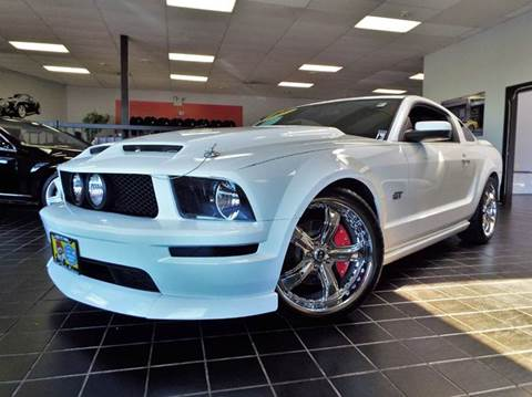2008 Ford Mustang for sale at SAINT CHARLES MOTORCARS in Saint Charles IL