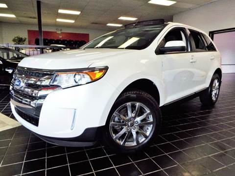 2014 Ford Edge for sale at SAINT CHARLES MOTORCARS in Saint Charles IL
