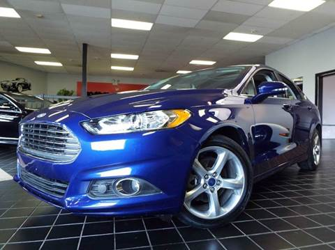 2015 Ford Fusion for sale at SAINT CHARLES MOTORCARS in Saint Charles IL