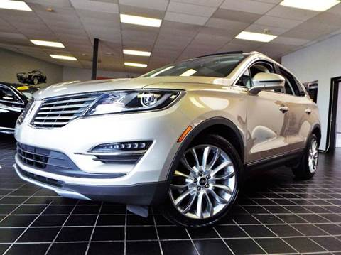 2015 Lincoln MKC for sale at SAINT CHARLES MOTORCARS in Saint Charles IL