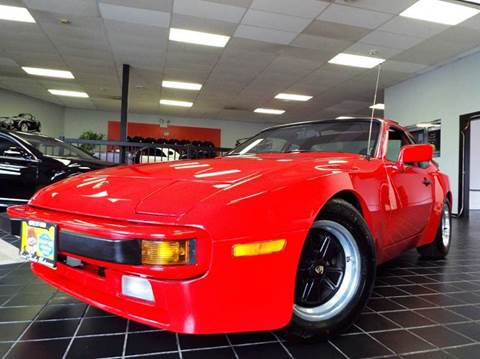 1984 Porsche 944 for sale at SAINT CHARLES MOTORCARS in Saint Charles IL