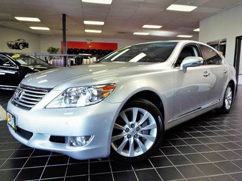 2010 Lexus LS 460 for sale at SAINT CHARLES MOTORCARS in Saint Charles IL