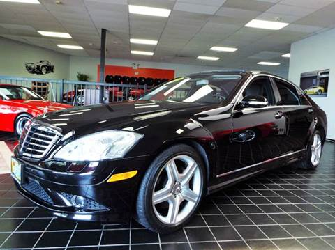 2007 Mercedes-Benz S-Class for sale at SAINT CHARLES MOTORCARS in Saint Charles IL