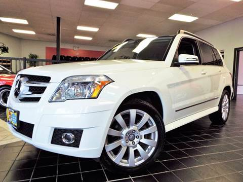 2010 Mercedes-Benz GLK for sale at SAINT CHARLES MOTORCARS in Saint Charles IL