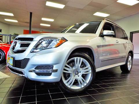 2013 Mercedes-Benz GLK for sale at SAINT CHARLES MOTORCARS in Saint Charles IL