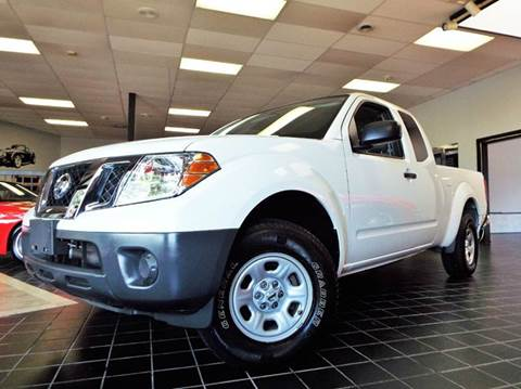 2016 Nissan Frontier for sale at SAINT CHARLES MOTORCARS in Saint Charles IL