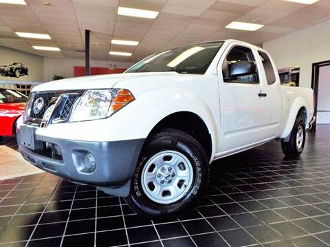 2015 Nissan Frontier for sale at SAINT CHARLES MOTORCARS in Saint Charles IL
