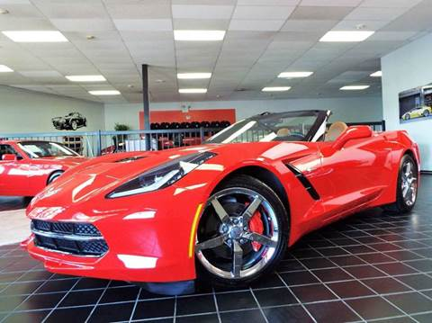 2014 Chevrolet Corvette for sale at SAINT CHARLES MOTORCARS in Saint Charles IL