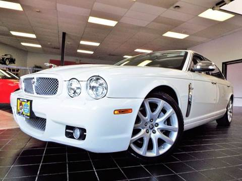 2008 Jaguar XJ-Series for sale at SAINT CHARLES MOTORCARS in Saint Charles IL