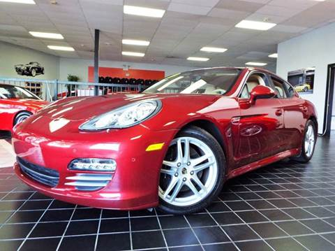 2011 Porsche Panamera for sale at SAINT CHARLES MOTORCARS in Saint Charles IL