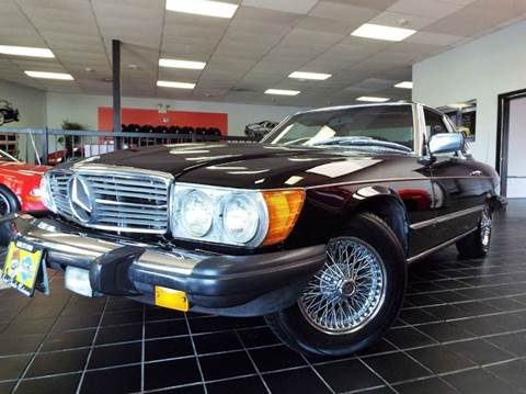 1978 Mercedes-Benz 450 SL for sale at SAINT CHARLES MOTORCARS in Saint Charles IL