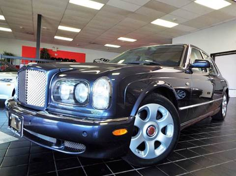 2001 Bentley Arnage for sale at SAINT CHARLES MOTORCARS in Saint Charles IL
