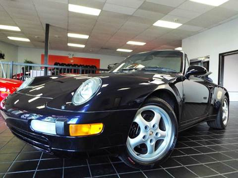 1996 Porsche 911 for sale at SAINT CHARLES MOTORCARS in Saint Charles IL