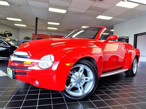 2003 Chevrolet SSR for sale at SAINT CHARLES MOTORCARS in Saint Charles IL